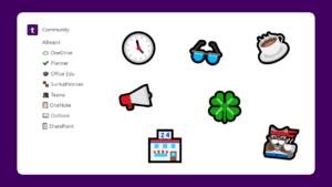 emoji bakgrund
